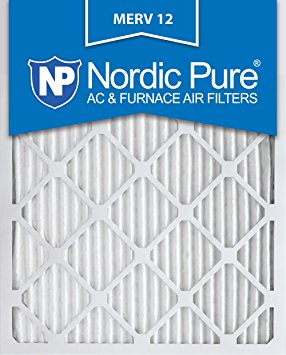 4. Nordic Pure Pleated AC Furnace Air Filter