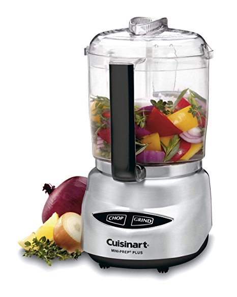 10. Cuisinart DLC-4CHB Mini-Prep Plus 4-Cup Food Processor