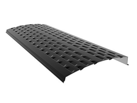 7. E-Z-GUTTER GUARD EZ-Shield-10 Solid Aluminum Gutter Guards