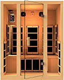 JNH Lifestyles Joyous 3 Person Far Infrared Sauna