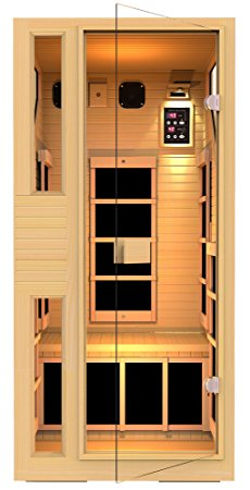 7. JNH Lifestyles NE1HB1 ENSI Collection 1 Person NO EMF Infrared Sauna