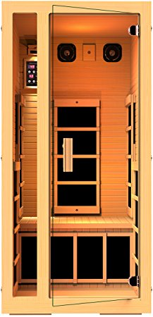 5. JNH Lifestyles Joyous 1 Person Far Infrared Sauna