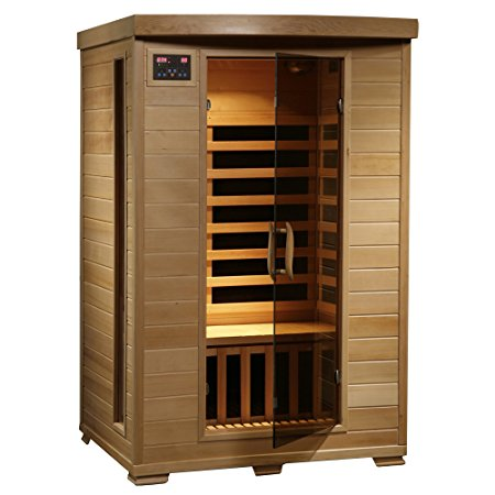 4. Radiant Saunas 2-Person Hemlock Infrared Sauna