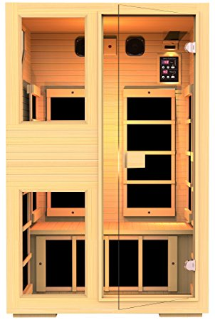3. JNH Lifestyles NE2HB1 ENSI Collection 2 Person NO EMF Infrared Sauna