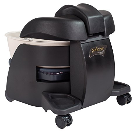 5. CONTINUUM PediCute Portable Foot Spa