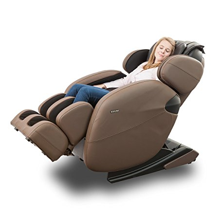 1. Kahuna Massage Chair Space-Saving Zero-Gravity Full-Body Recliner