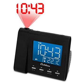 5. Electrohome EAAC601 Projection Alarm Clock