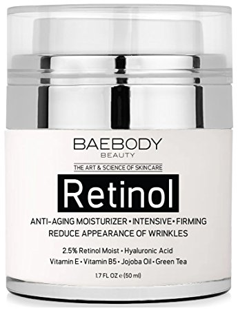 10. Baebody Retinol Moisturizer Cream for Face and Eye area