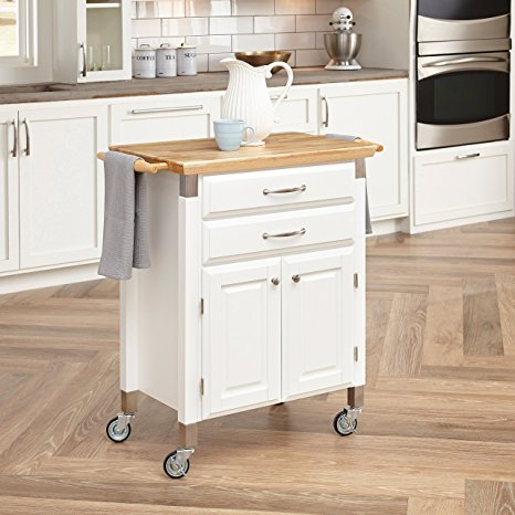 10. Home Styles 4509-95 Dolly Madison Prep and Serve Cart