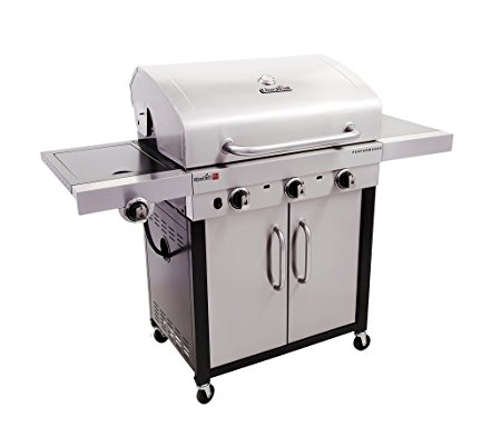 9. Char-Broil Performance TRU Infrared 500 3-Burner Cabinet Gas Grill