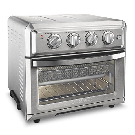 7. Cuisinart TOA-60 Convection Toaster Oven Air Fryer with Light