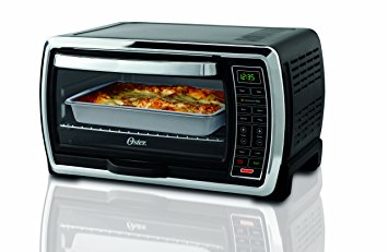 3. Oster Large Capacity Countertop 6-Slice Digital Convection Toaster Oven