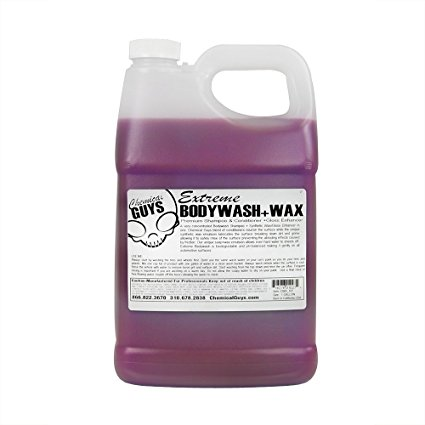 6. Chemical Guys CWS_107 Extreme Body Wash and Synthetic Wax Car Wash Shampoo