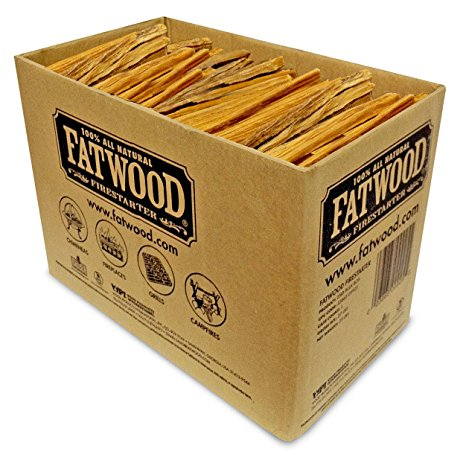3. Fatwood Firestarter 9925 0.63 Cubic Feet Fatwood for Fireplace