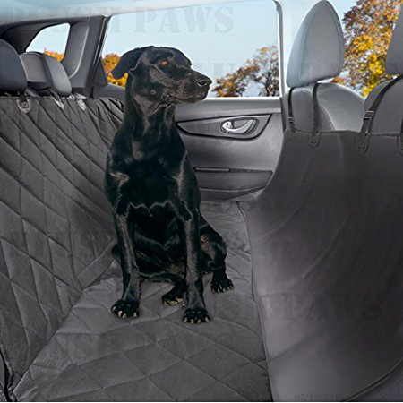 10. Plush Paws Pet Seat Cover