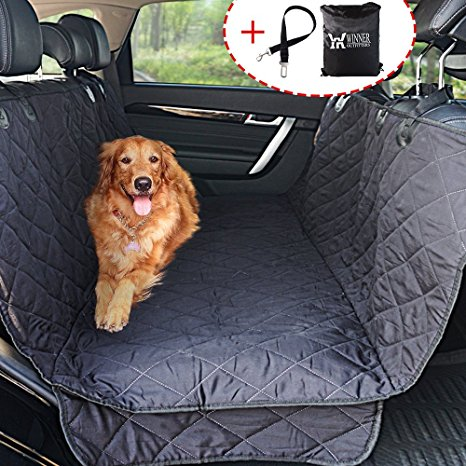 5. Winner Outfitters Dog Car Seat Cover