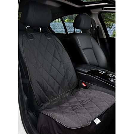 4. BarksBar Pet Front Seat Cover for Cars