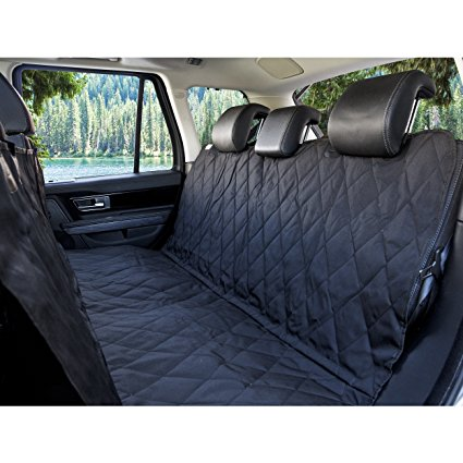 2. BarksBar Luxury Pet Car Seat Cover