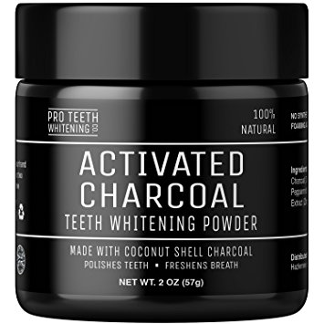 4. Pro Teeth Activated Charcoal Teeth Whitening Powder