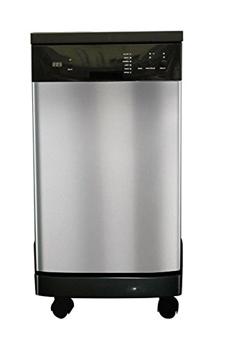 3. SPT SD-9241SS Energy Star Portable Dishwasher, Stainless Steel (18-inch)