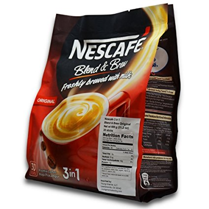 10. Nescafé 3 in 1 Instant Coffee Sticks ORIGINAL