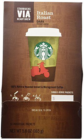 2. Starbucks VIA® Ready Brew Italian Roast Coffee