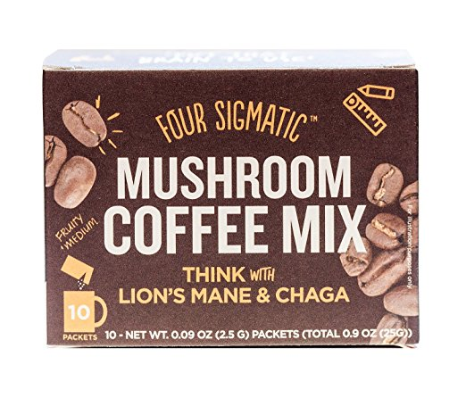 1. Four Sigmatic Mushroom Coffee -Lion's Mane & Chaga