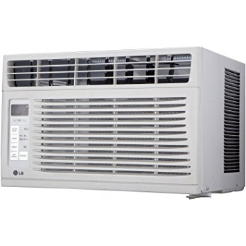 10. LG LW6015ER 6,000 BTU 115V Window-Mounted Air Conditioner