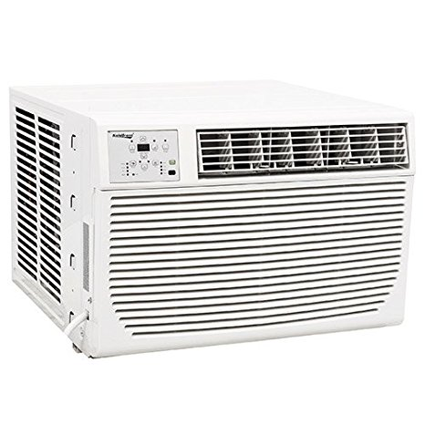 6. Koldfront 12,000 BTU 220V Heat/Cool Window Air Conditioner