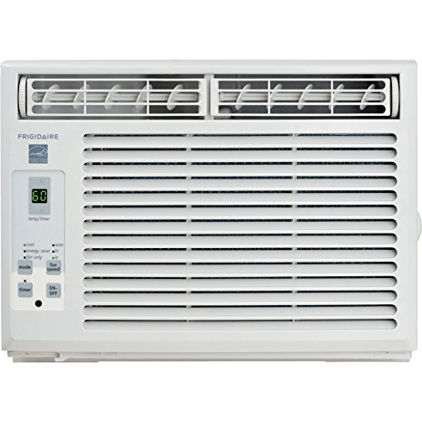 2. Frigidaire 5,000 BTU Window-Mounted Mini-Compact Air Conditioner