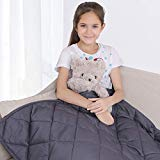 bedextra Weighted Blanket 7lbs for Kids - 100% Organic Cotton 41